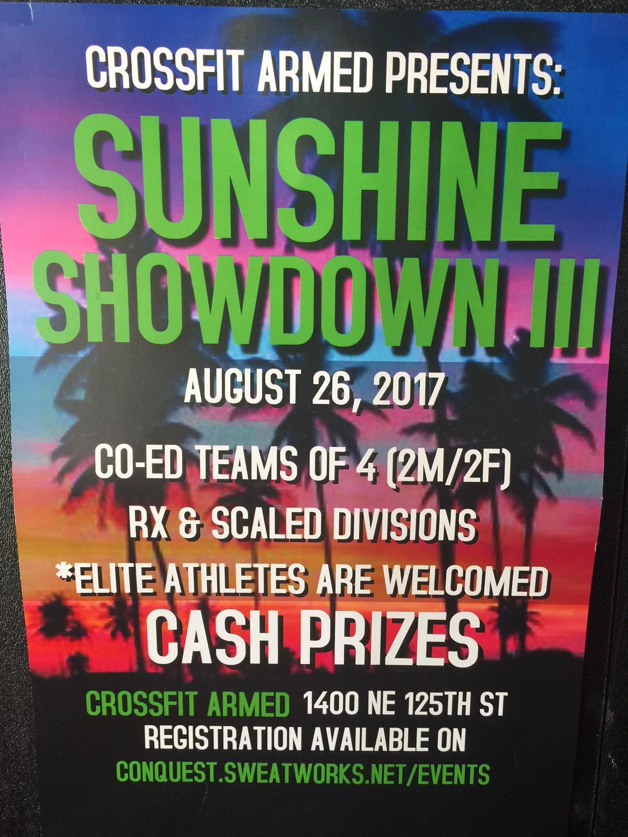 Brandt crossfit downtown fort worth - Sunshine Showdown Iii